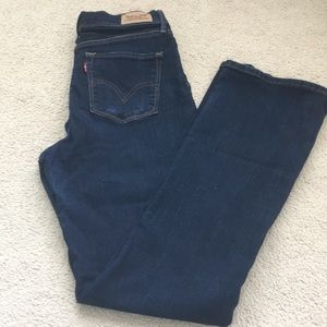 Levi's Size 6 Perfectly Slimming 512 Boot Cut